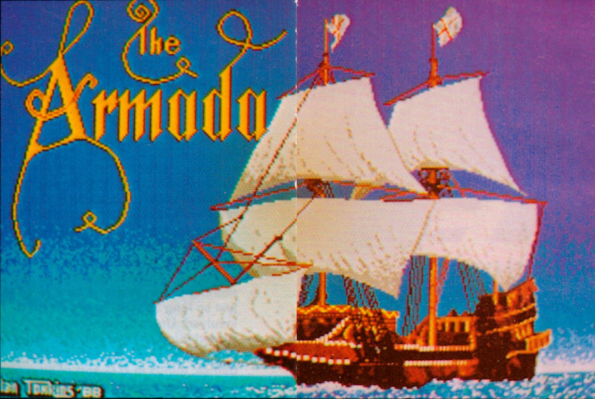 Screenshot of Armada (unreleased version)