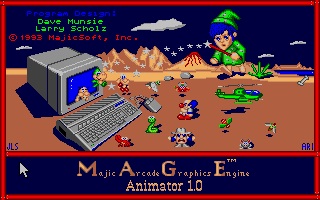 Thumbnail of other screenshot of Majic Arcade Graphics Engine - M.A.G.E.