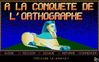 Thumbnail of other screenshot of Conquête De L'Orthographe, À La - 4e/3e