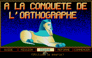 Screenshot of Conquête De L'Orthographe, À La - CE1-CE2