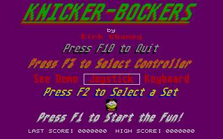 Screenshot of Knickerbockers