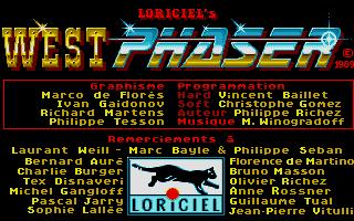 Screenshot of Westphaser