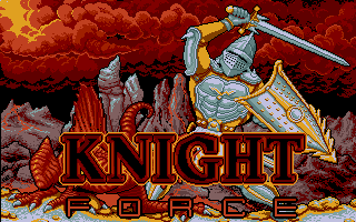 Screenshot of Knight Force