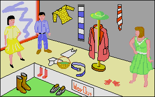 Screenshot of Let's Spell At The Shops