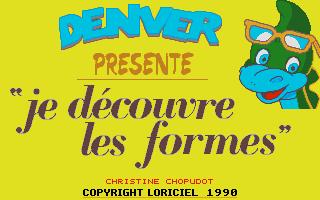 Screenshot of Denver Présente Je Découvre Les Formes