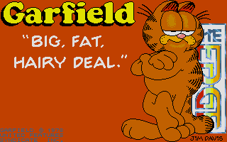 Thumbnail of other screenshot of Garfield - Big, Fat, Hairy Deal