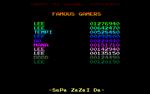 Screenshot of Supa Zazai Da
