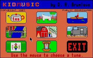Screenshot of Kidmusic