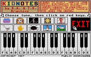 Screenshot of Kidnotes