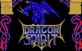 Screenshot of Dragon Spirit