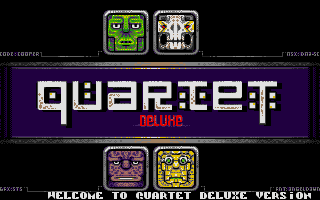 Screenshot of Quartet Deluxe