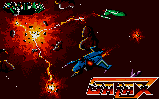 Screenshot of 3D Galax