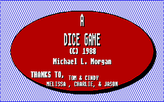 Thumbnail of other screenshot of A Dice Game