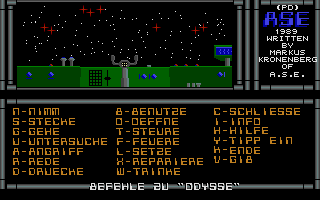 Thumbnail of other screenshot of Abenteurer Die Weltraum Odysse