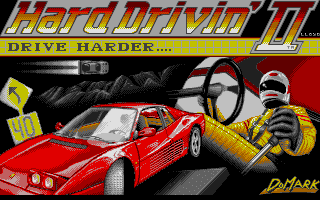 Thumbnail of other screenshot of Hard Drivin' 2 - Drive Harder
