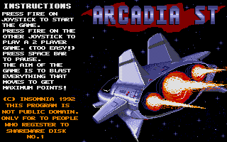Thumbnail of other screenshot of Arcadia ST