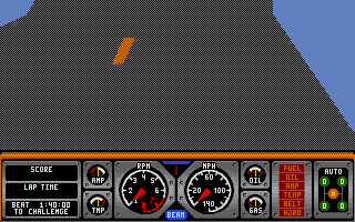 Screenshot of Hard Drivin' 2 - Drive Harder