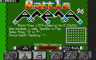 Screenshot of Battle Arena 96