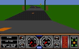 Screenshot of Hard Drivin' 2 - Drive Harder