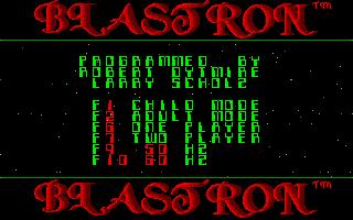 Thumbnail of other screenshot of Blastron