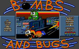 Screenshot of Bombs and Bugs