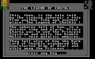 Thumbnail of other screenshot of Captive of Chuthlu