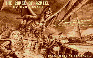 Thumbnail of other screenshot of Curse of Azriel, The