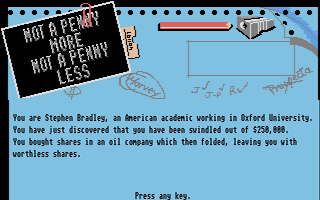 Thumbnail of other screenshot of Not a penny more, Not a penny less