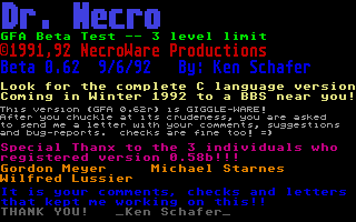 Thumbnail of other screenshot of Dr. Necro