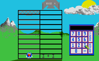 Screenshot of Early Learning Maths