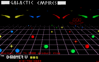 Thumbnail of other screenshot of Galactic Empires