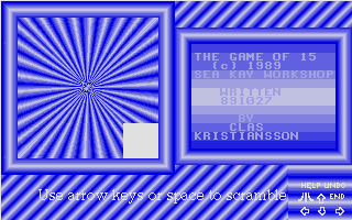 Screenshot of Game of 15, The