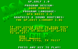 Thumbnail of other screenshot of GP Golf