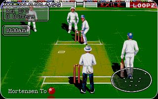 Thumbnail of other screenshot of Graham Gooch World Class Cricket - 94/95 Data Disk