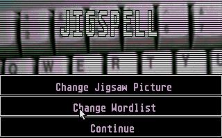 Screenshot of Jigspell