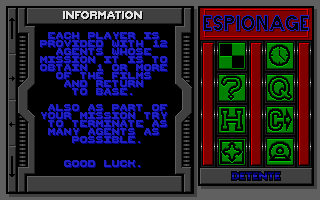 Screenshot of Espionage