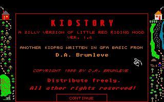 Screenshot of Kid Story