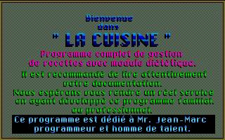 Screenshot of Cuisine, La
