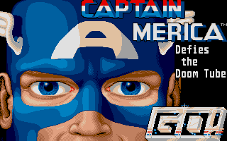 Thumbnail of other screenshot of Captain America In The Doom Tube Of Dr. Megalomann