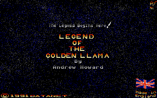 Thumbnail of other screenshot of Legend of the Golden Llama