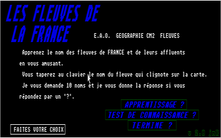 Thumbnail of other screenshot of Fleuves De La France, Les