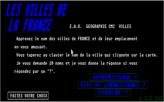 Thumbnail of other screenshot of Villes De La France, Les