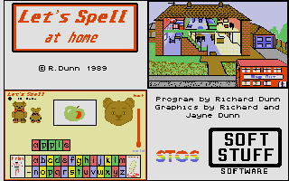 Thumbnail of other screenshot of Let's Spell At Home