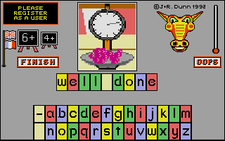Thumbnail of other screenshot of Let's Spell First 500 Words