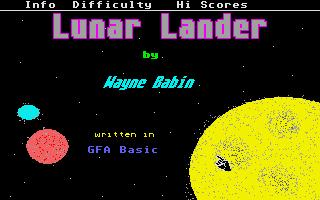 Thumbnail of other screenshot of Lunar Lander