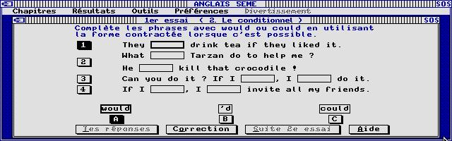 Thumbnail of other screenshot of Joker Micro - Anglais 5e
