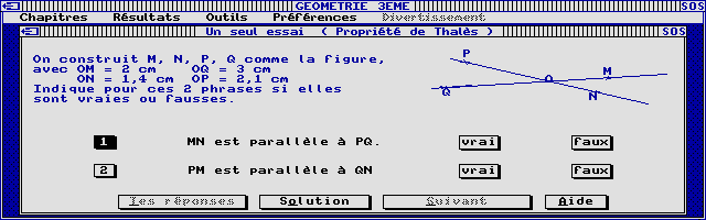 Thumbnail of other screenshot of Joker Micro - Maths 3e Volume 2