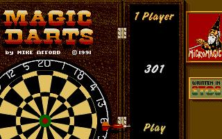 Screenshot of Magic Darts