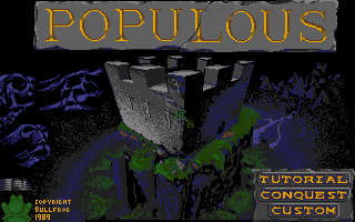 Screenshot of Populous