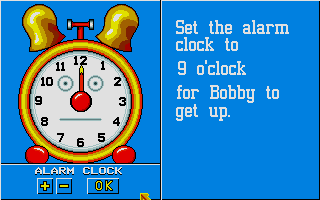 Screenshot of Telling The Time